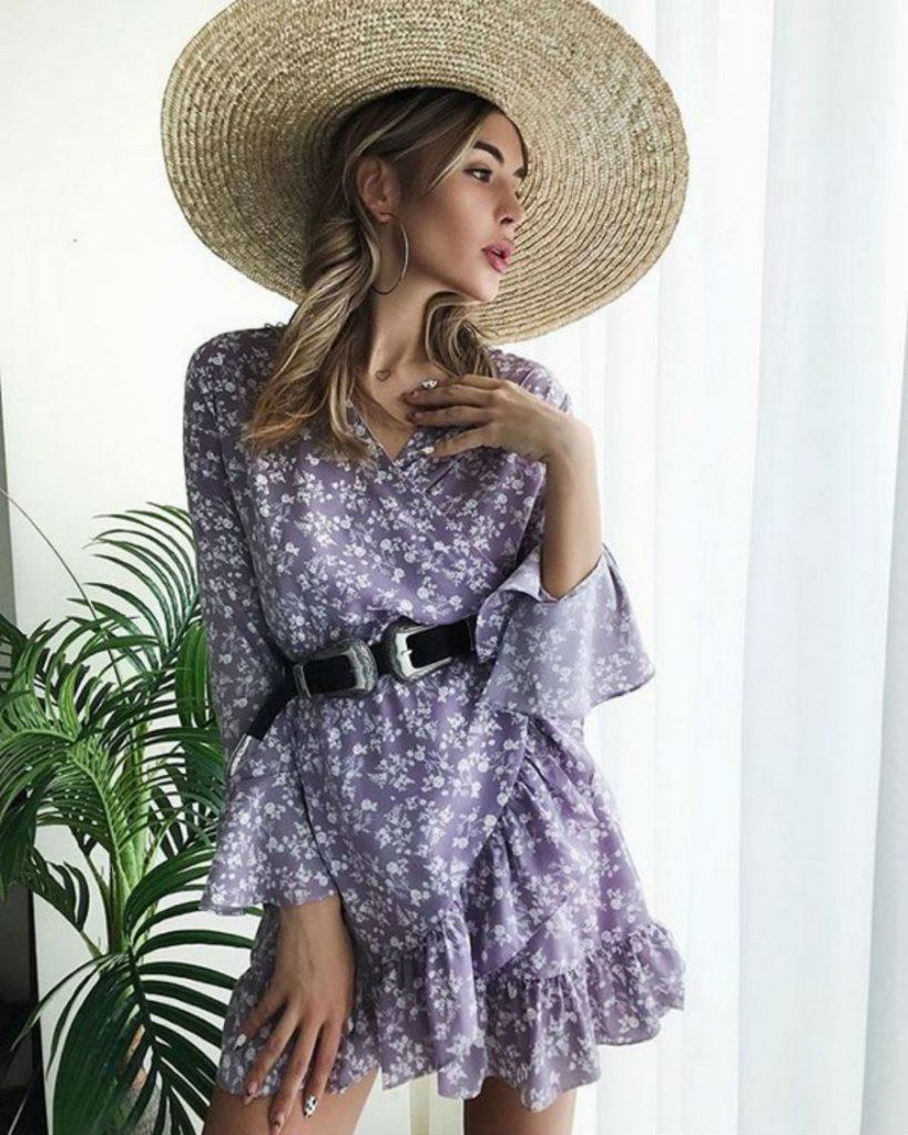 Кокетливые воланы | Летнее платье | Her Beauty