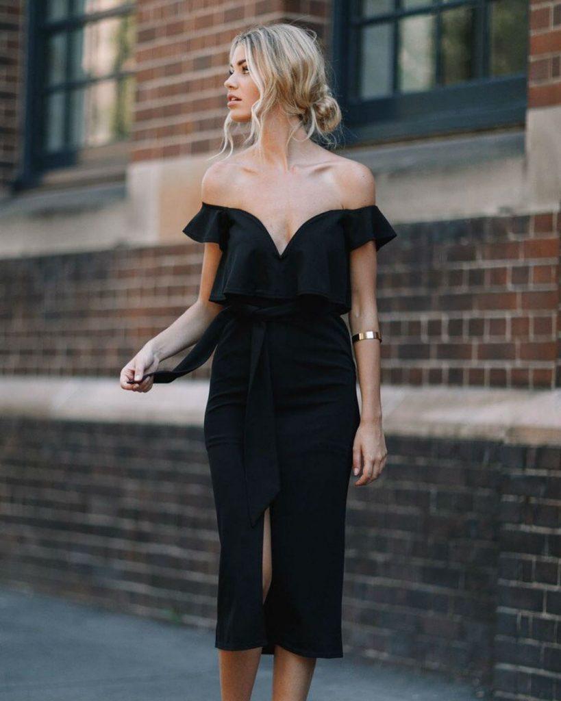 Маленькое черное платье | Летнее платье | Her Beauty