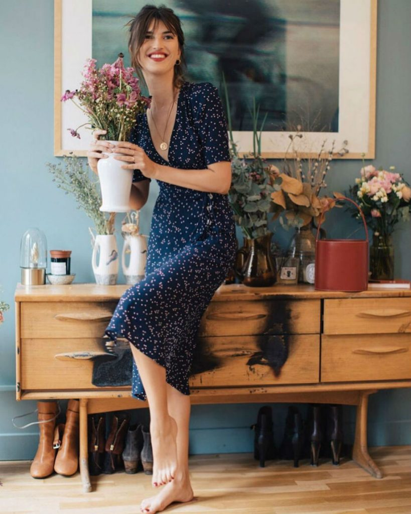 Романтичное, в стиле 40-х | Летнее платье | Her Beauty