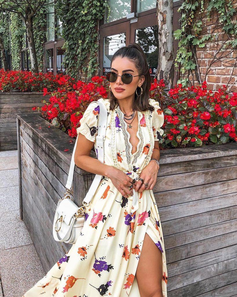 Цветочный принт  | Летнее платье | Her Beauty