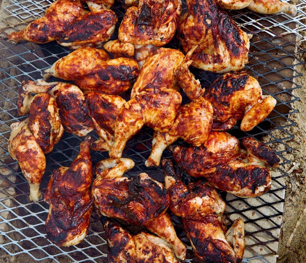 Chicken and Oyster with Oyster BBQ Sauce | 12 Grilling Recipes You've Gotta Try This Summer | Her Beauty