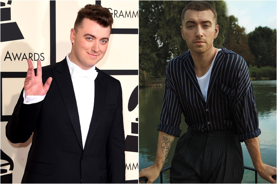 4. Sam Smith | 9 Celebs Who Got Super Skinny | Her Beauty