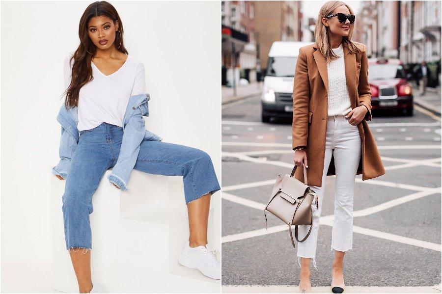 Cropped Jeans | Her Beauty
