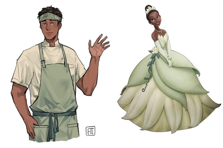 Tiana | If Disney Princesses Were Boys | Her Beauty