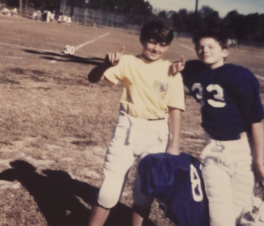 When Channing was just a wee kid | 10 Facts That Will Make You Fall In Love With Channing Tatum Her Beauty