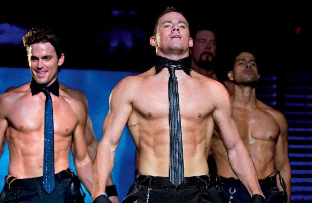 Channing Tatum filming Magic Mike | 10 Facts That Will Make You Fall In Love With Channing Tatum Her Beauty