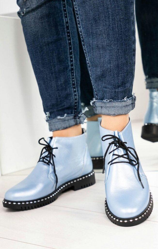 Ботинки на шнуровке   6 пар обуви, которые тебе действительно нужны этой осенью   Her Beauty