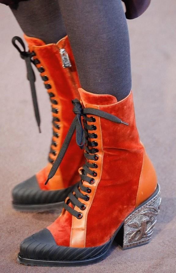 Ботинки на шнуровке #2   6 пар обуви, которые тебе действительно нужны этой осенью   Her Beauty