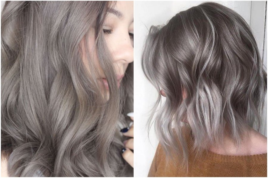 Ash-gray | How To Get Silver Hair: The Ultimate Guide to Dyeing Your Hair Her Beauty