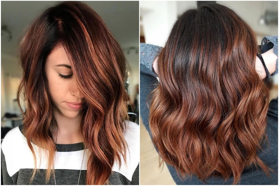 Auburn Highlights | 15 Trendy Red Hair Ideas To Try | Her Beauty