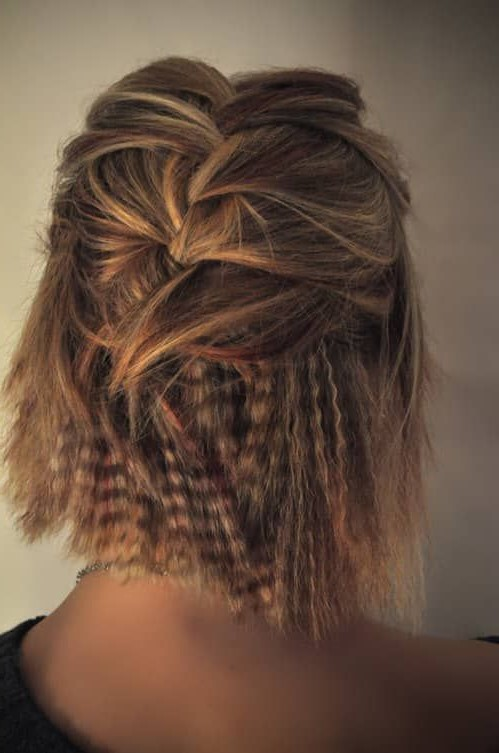 Crimped hairstyles for short hair | 6 Crimped Hair Ideas that Will Make You Feel Daring | Her Beauty