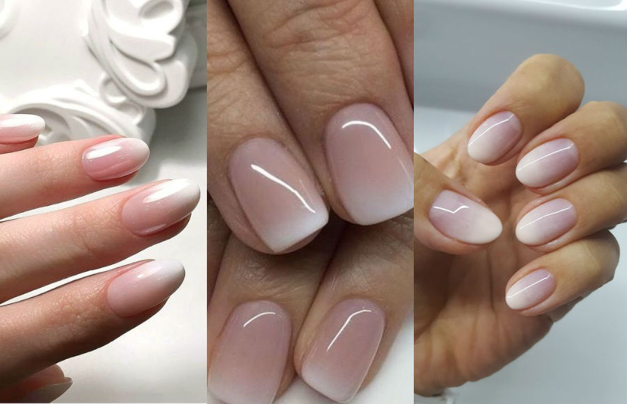 Ombre French Manicure   8 Fresh French Manicure Design Ideas   Her Beauty