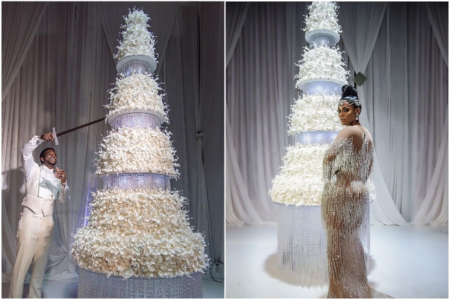 Gucci Mane And Keyshia Ka'oir – $1.7 million | 8 of the World's Most Stunning (and Expensive) Wedding Cakes | Her Beauty