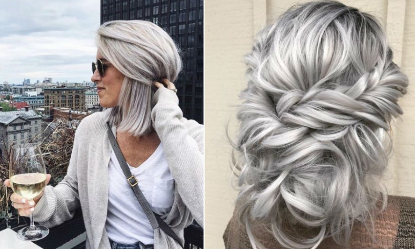 How To Get Silver Hair: The Ultimate Guide to Dyeing Your Hair | Her Beauty