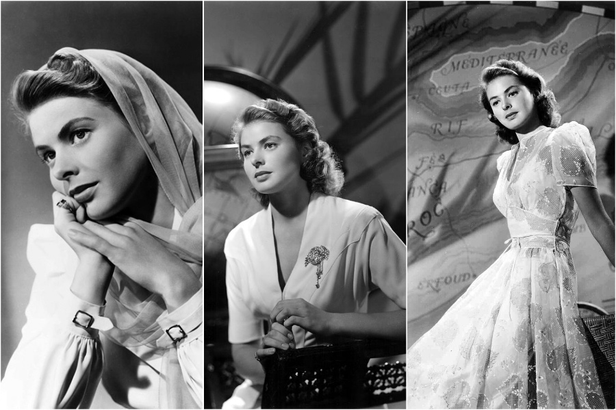 Ingrid Bergman | 10 Style Icons of the '30s and '40s | Her Beauty