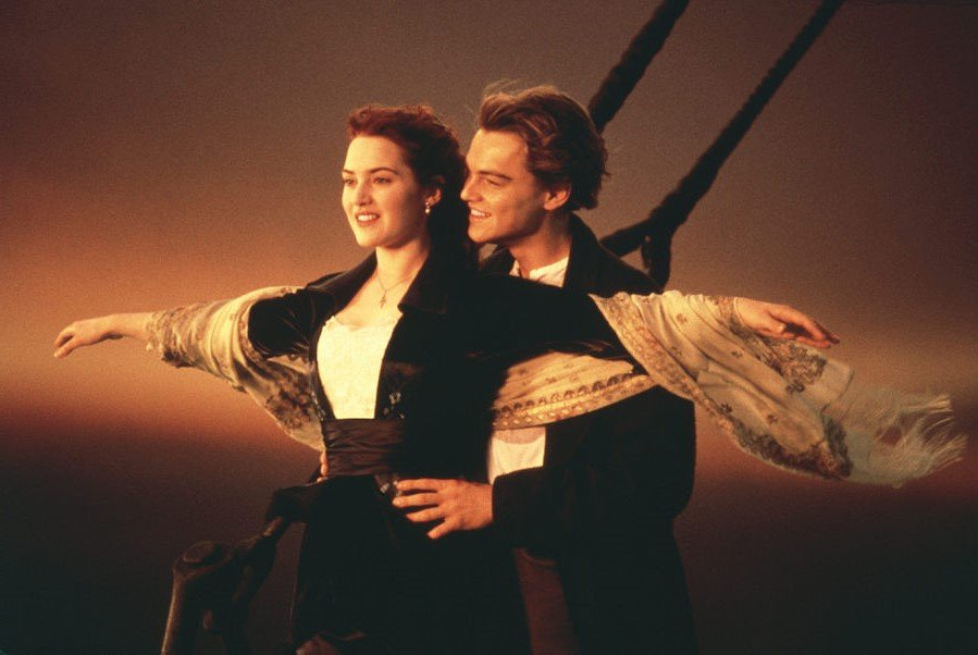 Jack and Rose - Titanic, 1997  | 10 Most Tragic Movie Couples | Her Beauty