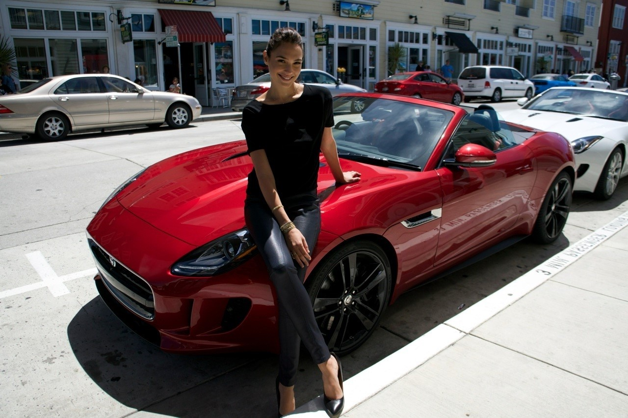 Jaguar Convertible | 7 Crazy Expensive Things Gal Gadot Has Bought | Her Beauty