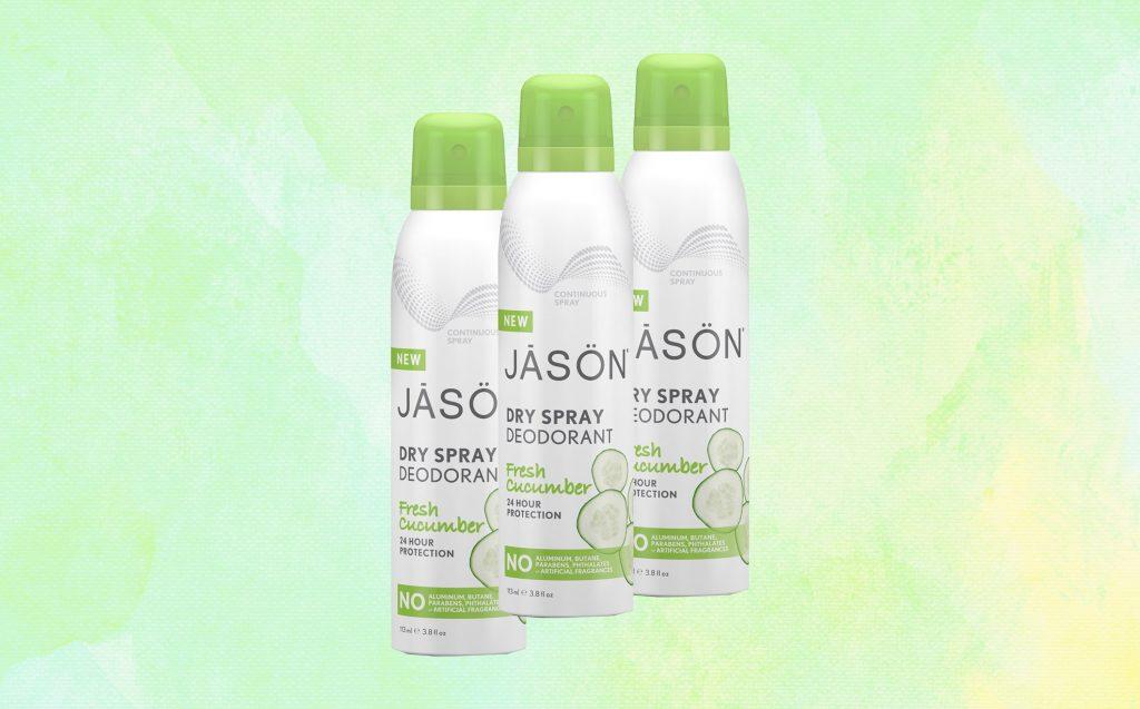 Jason SOFT Dry Spray Deodorant  | 10 Best Natural Deodorants For Women | Her Beauty