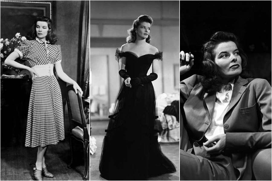 Katharine Hepburn | 10 Style Icons of the '30s and '40s | Her Beauty