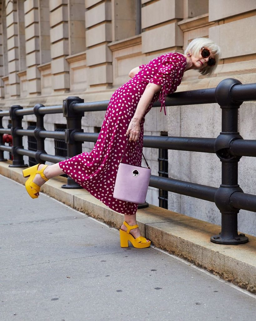 Lyn Slater #2 | 12Over-50 Women With Ridiculously Good Style | Her Beauty