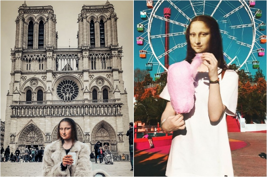Mona Lisa a travel blogger | Mona Lisa Reimagined In The Modern World Excerpt | Her Beauty