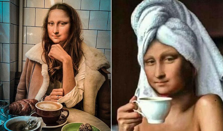 Mona Lisa Reimagined In The Modern World | Her Beauty