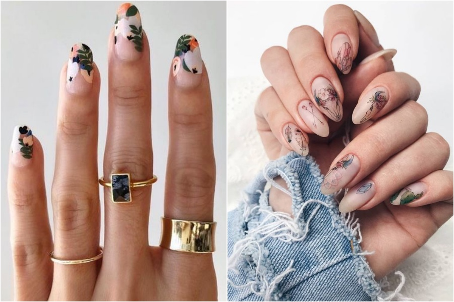 Almond | Nail Shapes And What They Say About You | Her Beauty