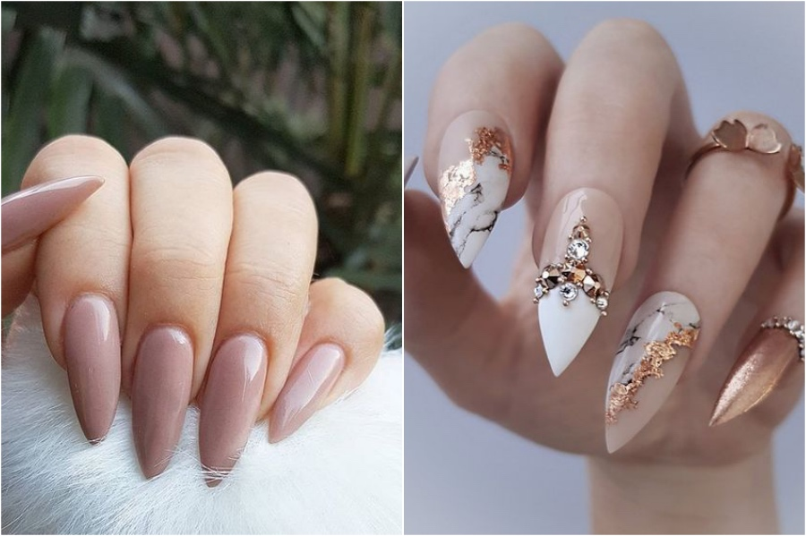 Stiletto | Nail Shapes And What They Say About You | Her Beauty