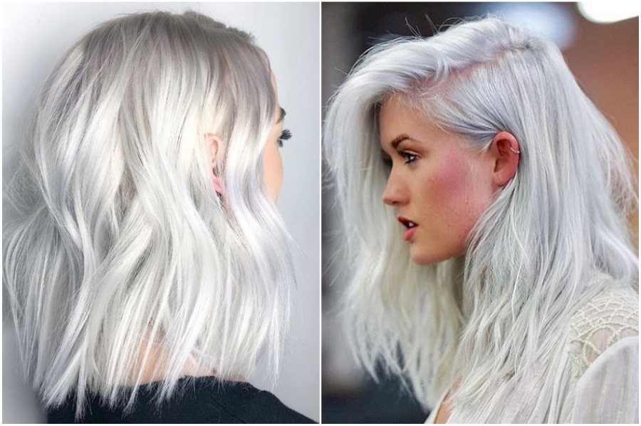 Platinum Silver Hair | How To Get Silver Hair: The Ultimate Guide to Dyeing Your Hair Her Beauty
