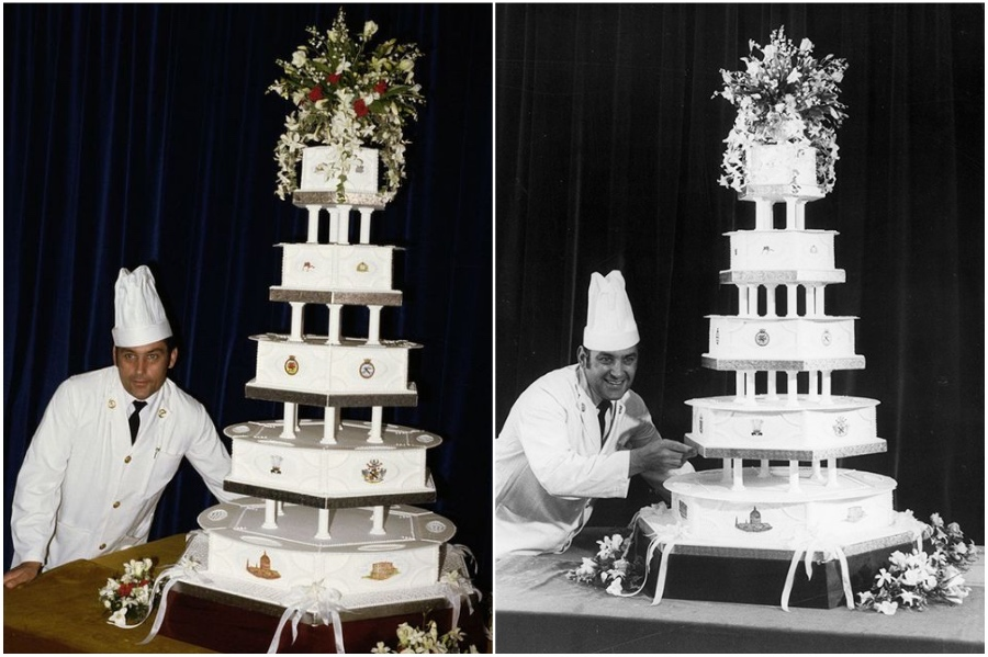 Princess Diana and Prince Charles's $40,000 Flowered Wedding Cake | 8 of the World's Most Stunning (and Expensive) Wedding Cakes | Her Beauty