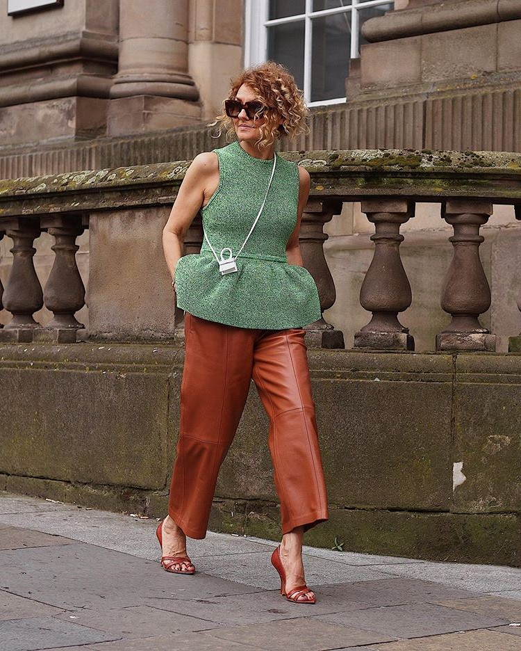 Renata Jazdzyk outfit | 12Over-50 Women With Ridiculously Good Style | Her Beauty