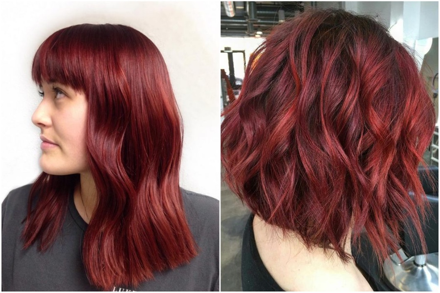 Ruby Red | 15 Trendy Red Hair Ideas To Try | Her Beauty