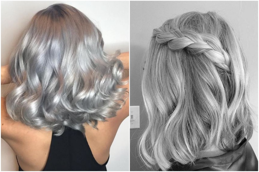 Silver Grey Hair   | How To Get Silver Hair: The Ultimate Guide to Dyeing Your Hair Her Beauty