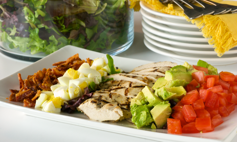 California Cobb Salad | 6 Best Salads from Around the World Her Beauty