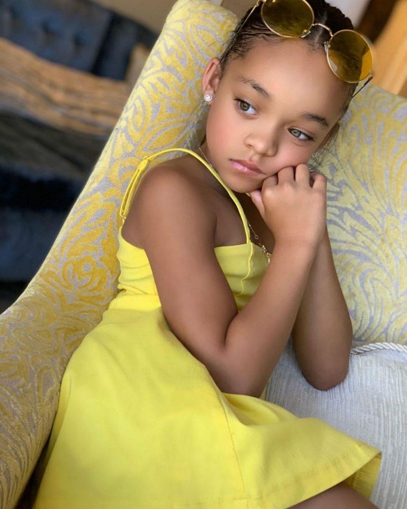 маленькая модель | Девочка, как две капли воды, похожая на Рианну, взорвала Instagram | Her Beauty