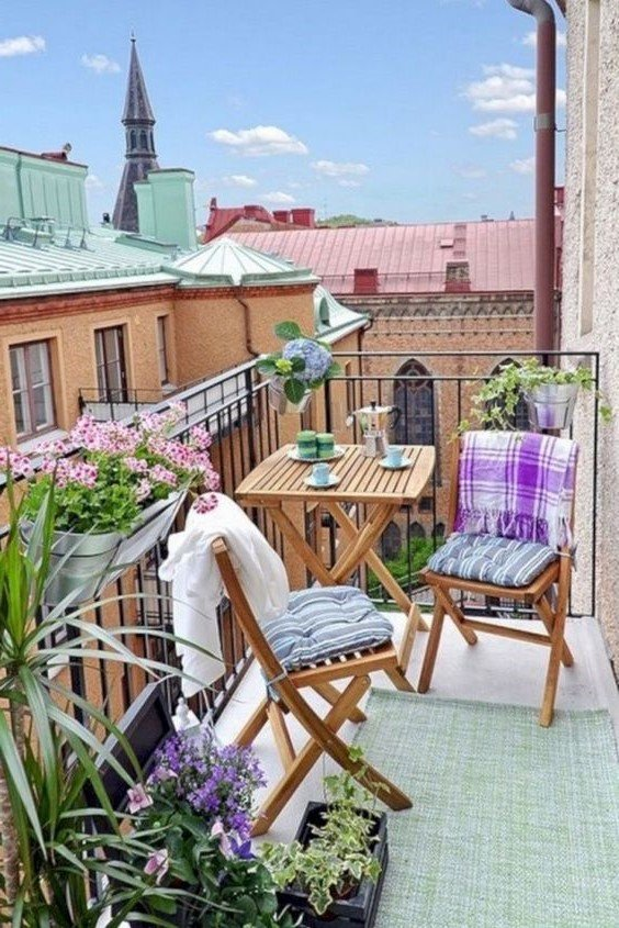 Furniture Balcony #2   10 Cozy Balcony Ideas   Her Beauty