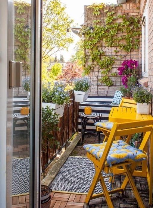 Furniture Balcony #1 | 10 Cozy Balcony Ideas | Her Beauty