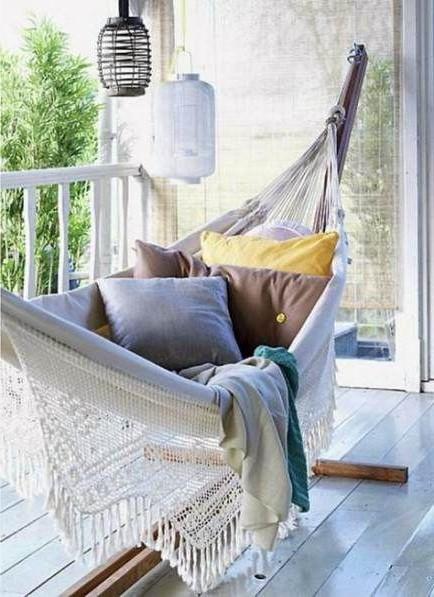 Hammock Balcony #1   10 Cozy Balcony Ideas   Her Beauty