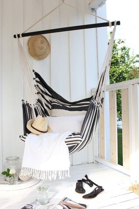 Hammock Balcony #2   10 Cozy Balcony Ideas   Her Beauty