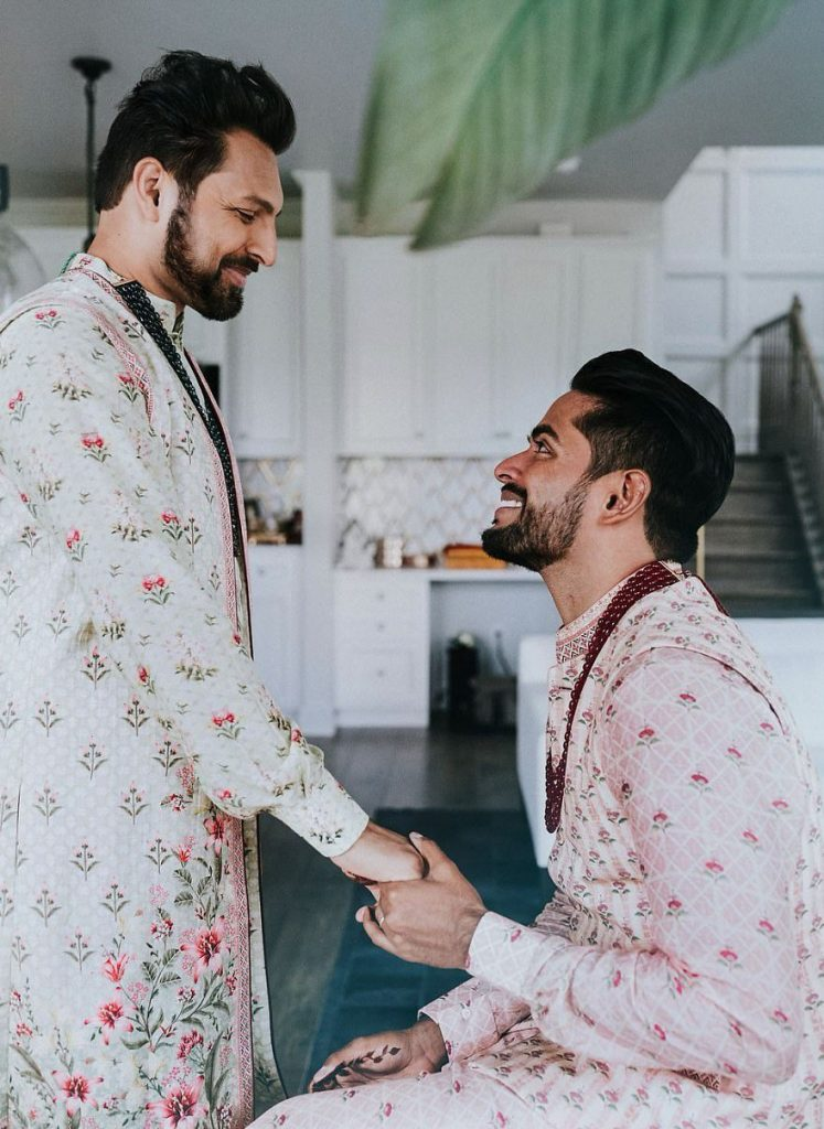 Gay Couple Immortalizes Gorgeous Traditional Indian Wedding #5   Her Beauty