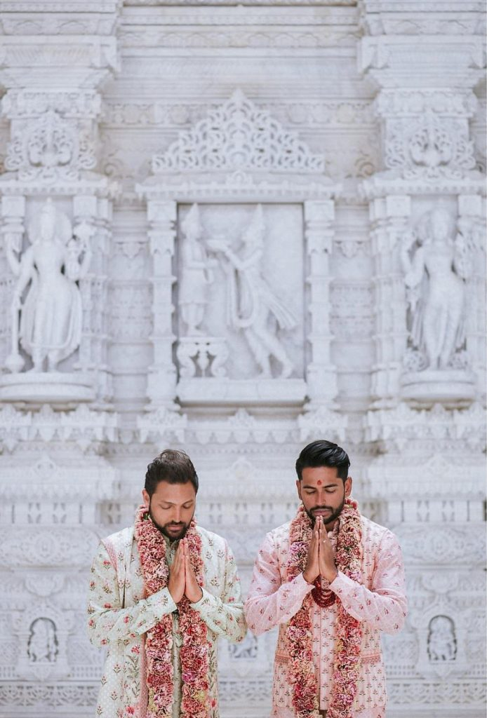 Gay Couple Immortalizes Gorgeous Traditional Indian Wedding #6   Her Beauty