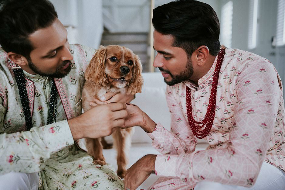 Gay Couple Immortalizes Gorgeous Traditional Indian Wedding #7 | Her Beauty