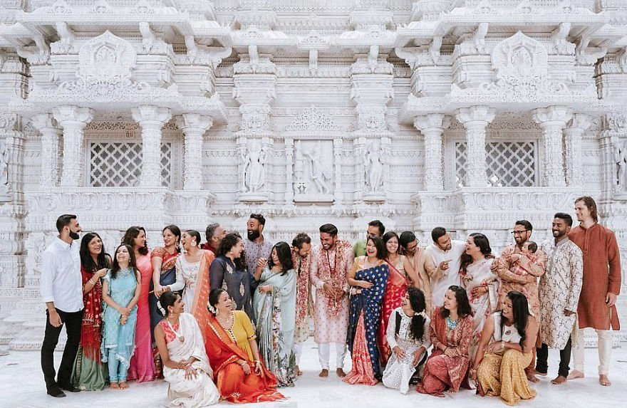 Gay Couple Immortalizes Gorgeous Traditional Indian Wedding #8   Her Beauty