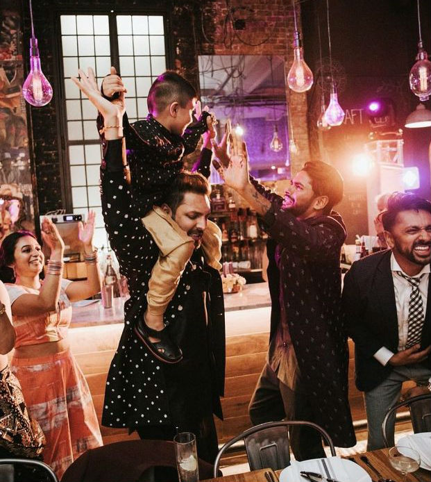 Gay Couple Immortalizes Gorgeous Traditional Indian Wedding #9   Her Beauty