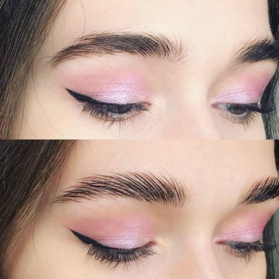 Прозрачный гель   Как красить брови, чтобы они выглядели естественно   Her Beauty