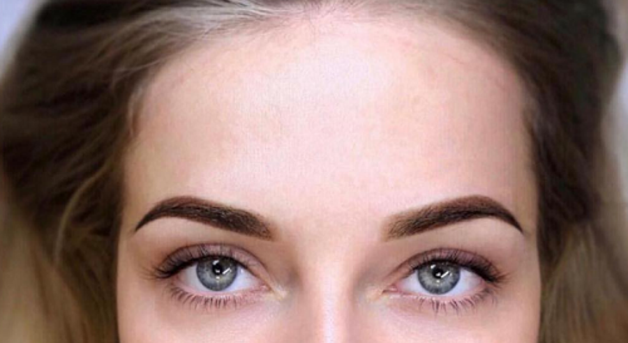 Пудровый макияж   Перманентный макияж бровей: плюсы, минусы и основные виды   Her Beauty