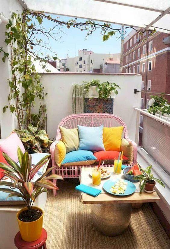 Pillows Balcony #2 | 10 Cozy Balcony Ideas | Her Beauty