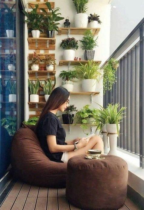 Soft seating Balcony #1 | 10 Cozy Balcony Ideas | Her Beauty