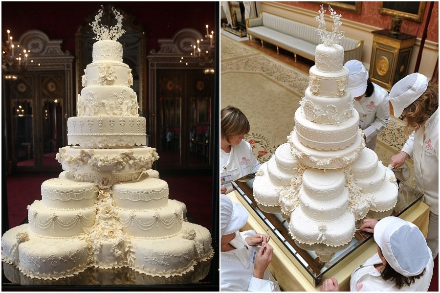 William and Kate's $80,000 cake | 8 of the World's Most Stunning (and Expensive) Wedding Cakes | Her Beauty