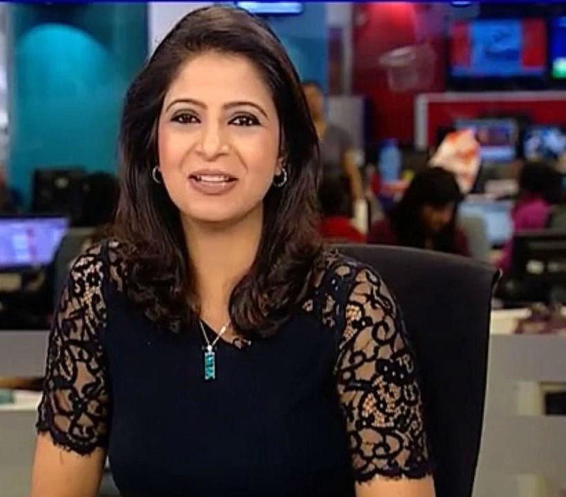 आएशा फरीदी | भारतीय टी. वी. में शीर्ष स्तर की छः सफल समाचार उद्घोषिकाएँ | Her Beauty